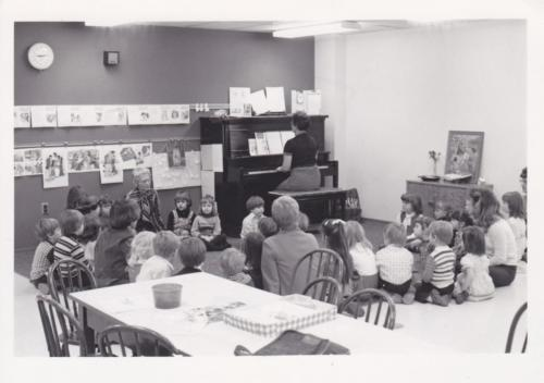 a h kindergarten sunday school