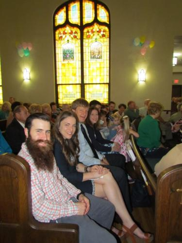 a w family in worship