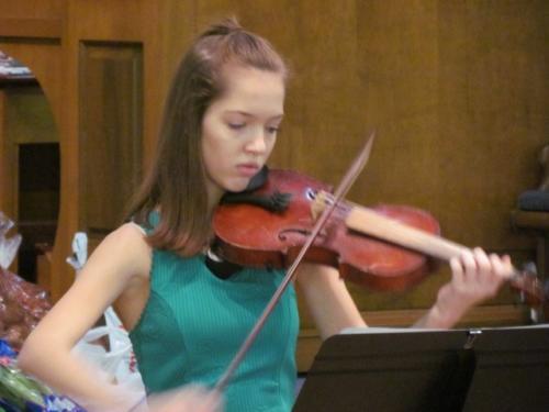 a w violin