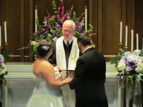 a w wedding